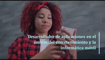 Curso Formativo de Grado Superior de Desarrollo de Aplicaciones Informáticas: vídeo de los puestos de trabajo que promete el curso al obtener el título