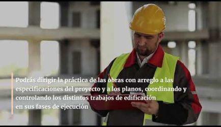 Vídeo sobre las salidas profesionales y el salario que gana un titulado de Encargado de Obra de Edificación