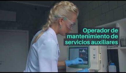 Vídeo sobre salidas laborales y el salario que obtendrá un titulado del Curso de Operaciones de Laboratorio