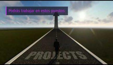 Curso de Gestión de Proyectos: vídeo de las salidas profesionales que ofrece la formación al obtener el título