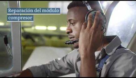 Vídeo sobre las salidas profesionales y el salario que conseguirá un graduado a Distancia de Mecánico de Motores de Avión